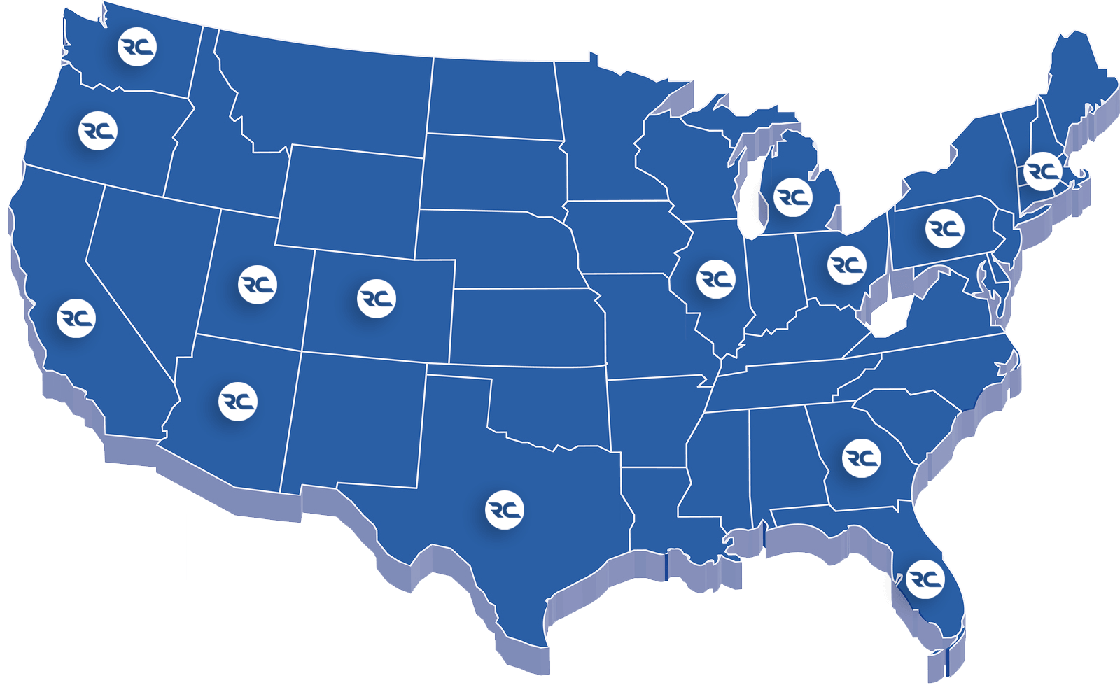 Reliable Couriers Locations