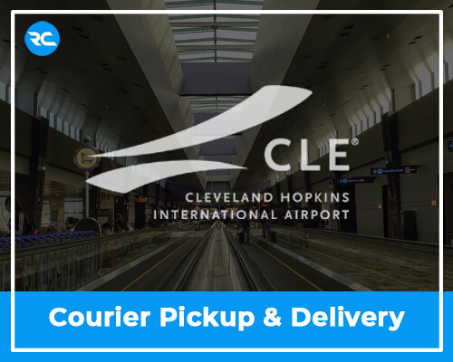 CLE Airport Courier Pickup and Delivery