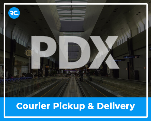 PDX Airport Courier