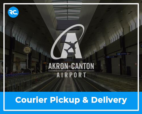 CAK Airport Courier Pickup and Delivery